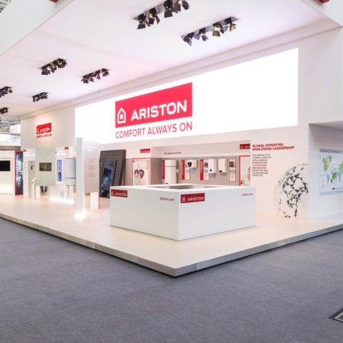 creazione stand fiera ariston