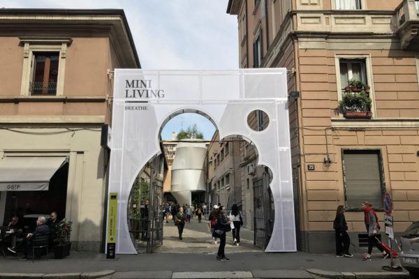 ALLESTIMENTO EVENTI MINI FUORI SALONE MILANO MILAN DESING WEEK 17 3