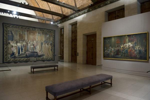 ALLESTIMENTO MOSTRE Palais du Tau Reims 4