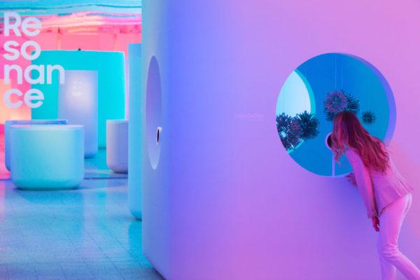 ALLESTIMENTO EVENTO SAMSUNG MILAN DESIGN WEEK 19 Resonance 2019 Milano Design Week © Gianfilippo De Rossi-33